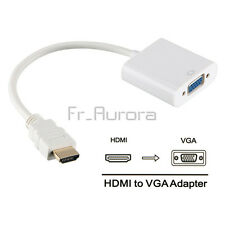 HDMI Male to VGA Female Vedio Cable Adapter Converter for PC DVD HDTV 1080P