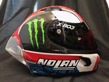 2020 X-Lite X803 RS Carbon RINS FREE Dark Visor Monster Sticker Motorbike Helmet