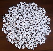 Luxury handmade crochet doily for wedding
