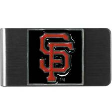 Stainless Steel Money Clip San Francisco Giants Mlb