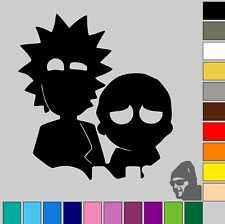 """Rick and Morty 3""""! GLOSS or MATTE! Vinyl Decal Sticker Car, Laptop, Phone"""