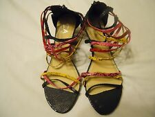 Women's Shoes Vintage2000s PSYCHEDELIC CA Carrini Collection HIGH HEEL SNEAKERS Shoes PickSize