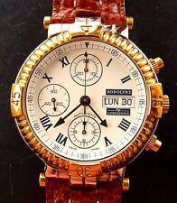 Longines Armbanduhren im Luxus-Stil mit Armband aus echtem Leder