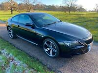 2006 BMW M6 5.0 V10 SMG COUPE GENUINE 64,000 MILES FSH 13 STAMPS! STUNNING CAR!