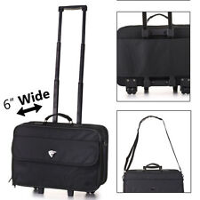 Canvas Lightweight Upright (2) Wheels Suitcases