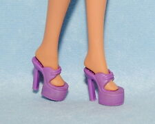 FUNKY!  Meduim Purple High Platform Heels BARBIE Shoes