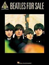 The Beatles Beatles for Sale Sheet Music Guitar Tablature Book NEW 000691066