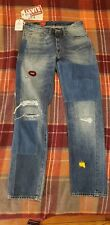NWT Mens Levi's LVC 1954 501z Patched Embell Selvedge Cone Jeans Sz 30 x 32 $425