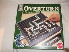 Overturn-Letters Game Mattel Inc 1987