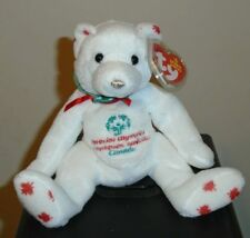 Ty Beanie Baby - COURAGEOUSLY the Bear (Canada Exclusive)(7 Inch) NEW 19b6fc04cebf