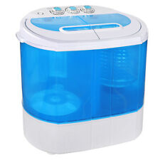 10lbs Compact Lightweight Portable Washing Machine Capacity w/ Spin Cycle Dryer