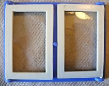 Vintage Dolls House DIY - Caroline's Home Double Plain Glazed Blue Window