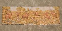 Vintage French Beautiful Hunting Scene Tapestry 137X46cm (A1108)