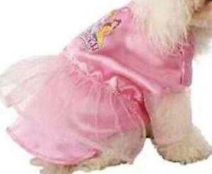 WDW Disney Catalog Vintage Princess Pink Dog Pet Costume Size Medium Brand New