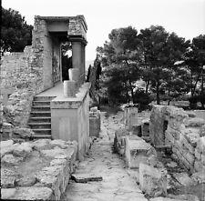 CNOSSOS c. 1950 - 6 Négatifs Site Archéologique Grèce - Négatif 6 x 6 - GRE 111