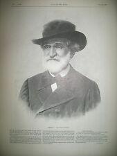 VERDI REINE VICTORIA PROCLAMATION EDOUARD VII DUEL ESCRIME MAITRES D'ARME 1901