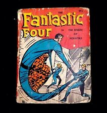 Vintage 1968 Big Little Books The Fantastic Four House Of Horrors Hardcover