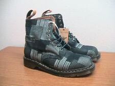 NEW Mens 10 US Dr. Martens Boro Pascal Indigo Denim Patchwork Boots, England