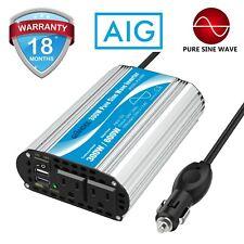 300W Pure Sine Wave Power Inverter DC 12V to AC 110V~120V Car Adapter