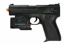 UKARMS T104L Spring Powered Airsoft Pistol w/ Tactical Flashlight and Laser