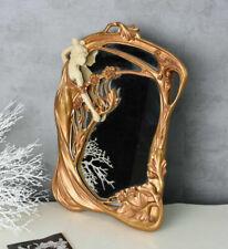Gold Plastic Frame Decorative Mirrors
