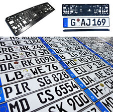 Original German License Plate For Dodge Audi Bmw Mercedes Benz Porsche Vw Fiat