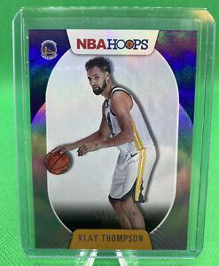 2020-21 NBA Hoops - Klay Thompson #77 - SILVER Parallel /199 Warriors