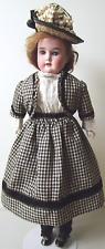 Armand Marseille Floradora - All Antique Clothes - Human Hair - Kid Body