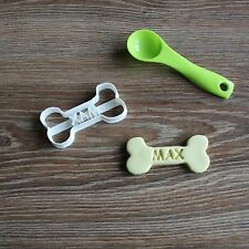 Custom Dog Bone Real Cookie Cutter Personalized Treat