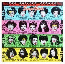 NM THE ROLLING STONES Some girls 1st RARE WITHDRAWN UK 1978 CUN 39108 3U 4U LP