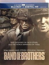 Band of Brothers (Blu-ray , 2015, 6-Disc )w/ HD Ultraviolet & slipcover (NEW)