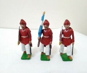 ARGENTINE INDEPENDENCE WAR GÜEMES 'INFERNALES' LEAD TOY SOLDIER LOT 1980's