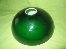 abat jour billard dôme réflecteur opaline de lampe en Verre soufflé vert et blan
