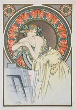 All the Works of Mucha Limited Edition Fine Art Lithograph COA S2