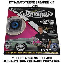 Dynamat Xtreme kit haut-parleurs