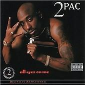 2Pac - All Eyez on Me (Remastered/Parental Advisory, 2 CDS) NEW AND SEALED TUPAC