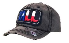 Adjustable Vintage Texas Lone Star Boots Yall Hat Cap Black Gray Red White Blue