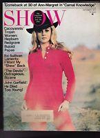Show Magazine Ann-Margret Ed Sullivan John Garfield Hepburn October 1971