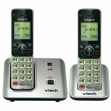 VTech Energy Star Certified Hearing Aid Compatible 2 Cordless Phones CS66192