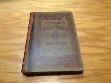 Appletons School Readers the Fourth Reader 1881 signed by student in 1883