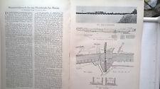 1929 35 Rheinbrücke bei Maxau