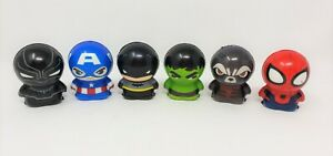 "Superhero Squishys - Set of 6 - Approx. 3"""