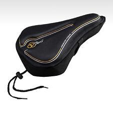 Via Velo Bike Seat Cover Comfortable  Wide Memory Foam Saddle Cover Black