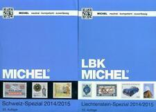 Michel Schweiz/Liechtenstein Spezial 2014/2015 2 Bände NEU