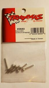Traxxas #2650 Self-Tapping Screws 3x20mm Countersunk (6)