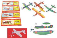 Wurfmaterial Mitgebsel Flugzeug 48 x Styropor-Flieger Karneval