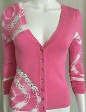 New INC International Concepts Phinestone-Button Women's Cardigan Size XS