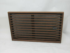 "KENWOOD KL-444A WOOD SPEAKER GRILL COVER, 13"" X 21.5"""
