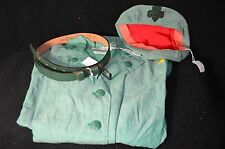 mid century 1956 GS Girl Scouts Leader short sleeveUNIFORM belt hat patch button