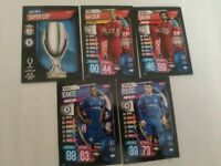 Lot of cards TOPPS Match Attax 19-20 SUPER CUP Liverpool VS Chelsea ON DEMAND